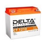 Аккумулятор СТ1210 МТ12-10 YB9A-A 10 а/ч 137х77х135 св кисл герм Delta