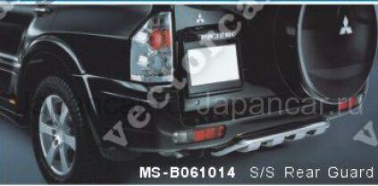 Накладка на бампер на Mitsubishi Pajero во Владивостоке