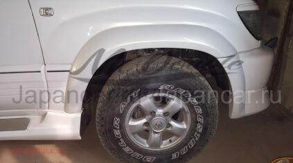 Расширители колесных арок на Toyota Land Cruiser 100 во Владивостоке