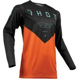 Thor Prime Pro Jet Black Orange джерси