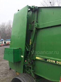 Пресс-подборщик JOHN DEERE 550 C пультом 2007 года во Владивостоке