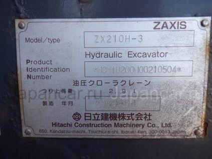 Экскаватор Hitachi ZX210H-3 2009 года во Владивостоке