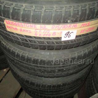 Всесезонные шины Bridgestone H/l 215/70 16 дюймов б/у в Новосибирске