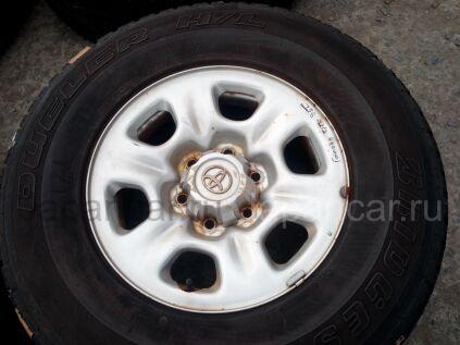 Летниe шины Bridgestone Dueler h\l 683 265/70 16 дюймов б/у в Челябинске