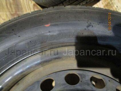 Летниe шины Dunlop 165/80 13 дюймов б/у в Томске