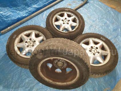 Зимние колеса Dunlop Winter maxx 195/65 15 дюймов Mercedes б/у в Барнауле