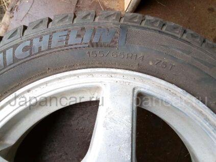 Зимние колеса Michelin X-ice 155/65 14 дюймов б/у в Уссурийске