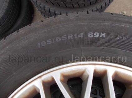 Летниe шины Bridgestone 195/65 14 дюймов б/у во Владивостоке