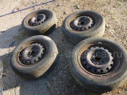Летниe колеса Dunlop 195/65 15 дюймов б/у в Уссурийске