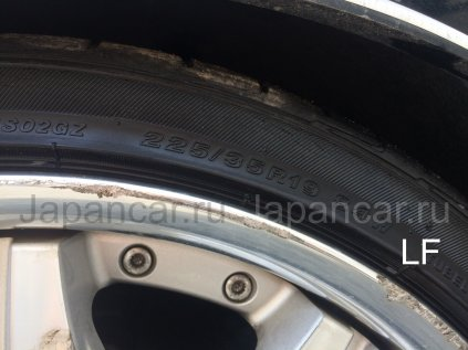 Летниe колеса Bridgestone Playz 235/35 19 дюймов Work б/у во Владивостоке