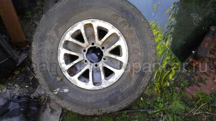 Всесезонные колеса Dunlop Grandtrek 265/75 15 дюймов Enkei ширина 7 дюймов вылет 10 мм. б/у в Москве