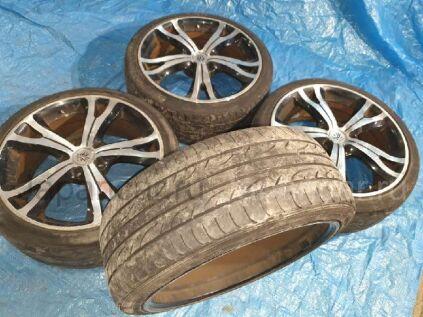 Летниe шины Dunlop Sp sport lm704 215/40 18 дюймов б/у в Барнауле