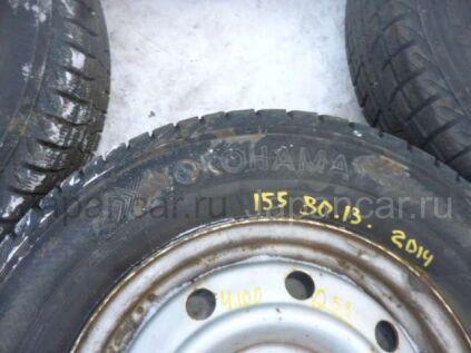 Всесезонные шины Yokohama 155/80 13 дюймов б/у в Уссурийске