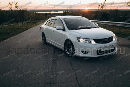 Губа на Toyota Allion во Владивостоке