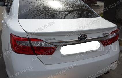 Спойлер на Toyota Camry во Владивостоке
