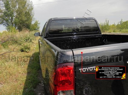 Накладка прочая на Toyota Hilux во Владивостоке