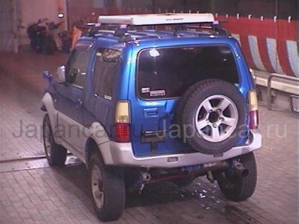 Бампер задний на Suzuki Jimny во Владивостоке