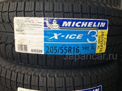 Всесезонные шины Япония michelin Xice 3 205/55 16 дюймов новые во Владивостоке