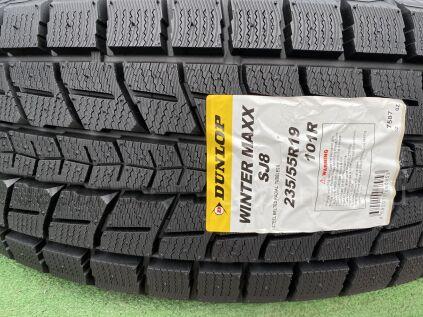 Зимние шины Япония Dunlop winter maxx sj8 235/55 19101 дюйм новые во Владивостоке