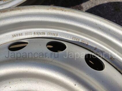 Диски 16 дюймов Toyota ширина 6.5 дюймов вылет 45 мм. б/у в Новосибирске