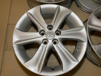Диски 16 дюймов Toyota ширина 5.5 дюймов вылет 39 мм. б/у во Владивостоке