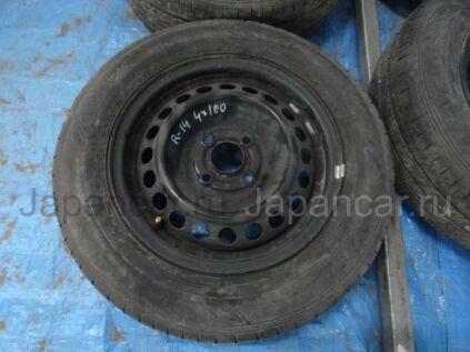 Летниe колеса Dunlop Enasave ec300 175/70 14 дюймов Toyota вылет 4 мм. б/у в Барнауле