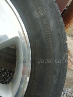 Летниe колеса Brigestone Ex20rv 205/60 16 дюймов Honda ширина 8 дюймов вылет 45 мм. б/у в Хабаровске