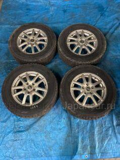 Зимние колеса Dunlop Dsx-2 205/70 15 дюймов Stranger вылет 5 мм. б/у в Барнауле