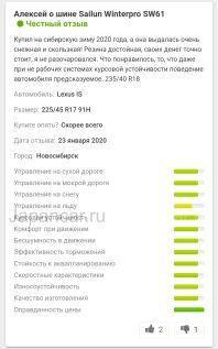 Зимние шины 195/60r15 sailun Winterpro sw 61 195/60 15 дюймов новые в Новосибирске
