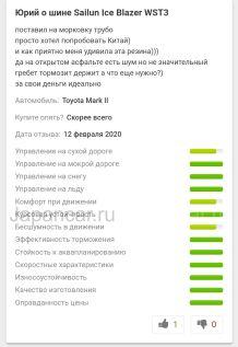 Зимние шины 195/65r15 sailun Ice blazer wst3 195/65 15 дюймов новые в Новосибирске