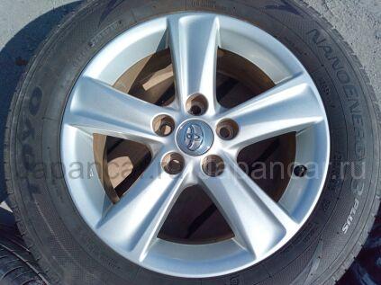 Диски 16 дюймов Toyota ширина 7 дюймов вылет 40 мм. б/у в Челябинске
