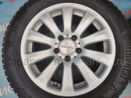 Зимние колеса Continental Contivikingcontact 6 225/55 16 дюймов Euro forsh ширина 7.5 дюймов вылет 42 мм. б/у в Новосибирске
