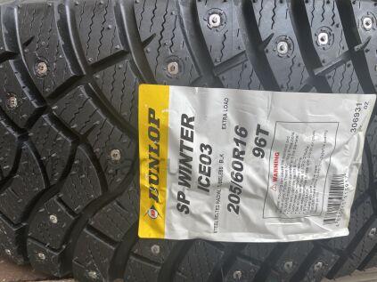 Зимние шины Япония Dunlop sp winter ice 03 205/60 16 дюймов новые во Владивостоке