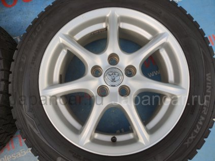 Зимние колеса Dunlop Winter maxx 215/60 17 дюймов Toyota ширина 7 дюймов вылет 50 мм. б/у в Новосибирске