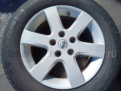 Диски 16 дюймов Nissan ширина 6.5 дюймов вылет 40 мм. б/у в Челябинске