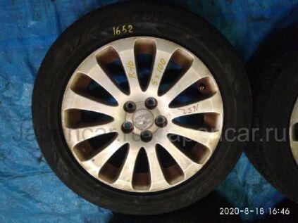Летниe колеса Dunlop Enasave ec203 205/55 16 дюймов Subaru вылет 5 мм. б/у в Барнауле