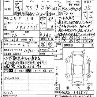 Mazda Verisa 2010 года в Японии, TOKYO