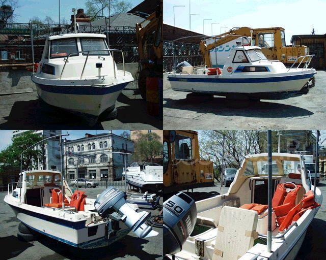 лодка пластиковая YAMAHA 50 1989 года