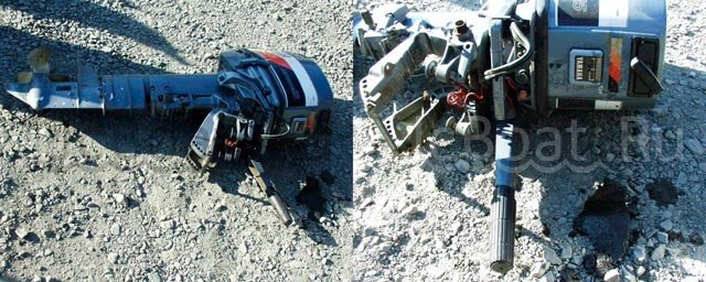 мотор подвесной YAMAHA KEROSENE 1993 года