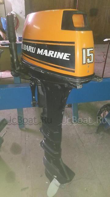 мотор подвесной MARINE SUBARU MARINE 15 1995 года