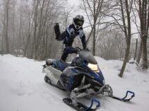 снегоход YAMAHA MTX 162