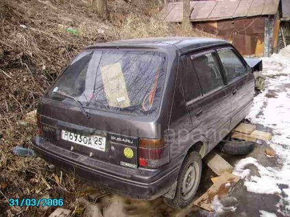 Subaru Justy 1992 года во Владивостоке на запчасти