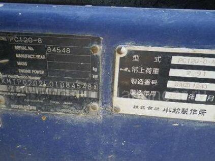 Экскаватор KOMATSU PC120-8 2012 года в Японии