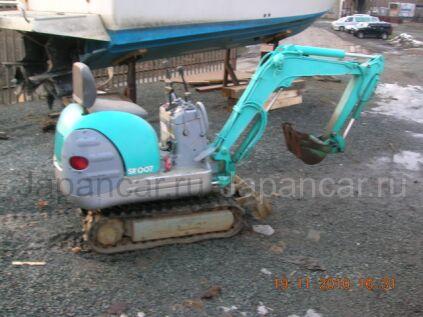 Экскаватор мини Kobelco SK007 1997 года во Владивостоке