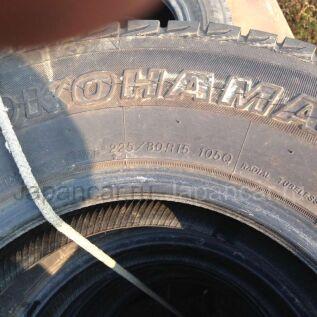 Зимние шины Yokohama 225/80 15 дюймов б/у во Владивостоке