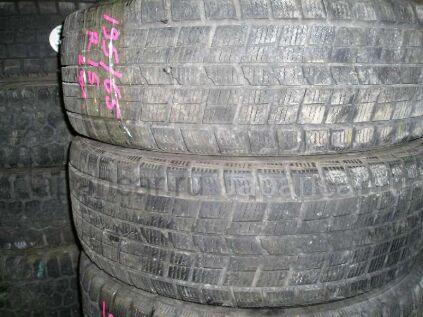 Зимние шины Dunlop Dsx 195/65 15 дюймов б/у во Владивостоке