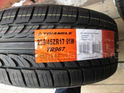Летниe шины Triangle Tr967 225/45 17 дюймов новые во Владивостоке