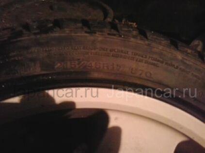 Зимние шины Dunlop S 205/45 17 дюймов б/у в Новокузнецке