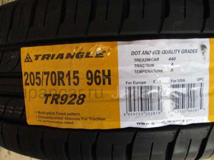 Летниe шины Triangle Tr928 205/70 15 дюймов новые во Владивостоке