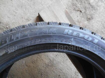 Зимние шины Bridgestone Blizzak revo1 255/40 17 дюймов б/у во Владивостоке